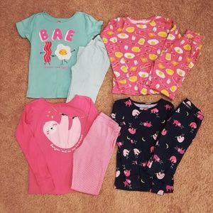 Variety Carter's pajamas